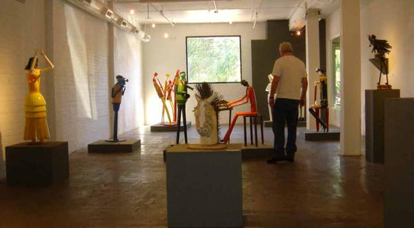 Art Foundry Gallery, Sacramento, California, 2008